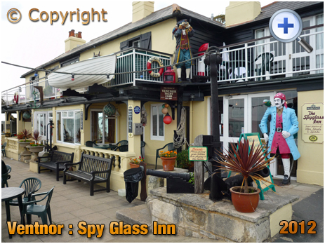 Isle of Wight : The Spy Glass Inn at Ventnor [2012]