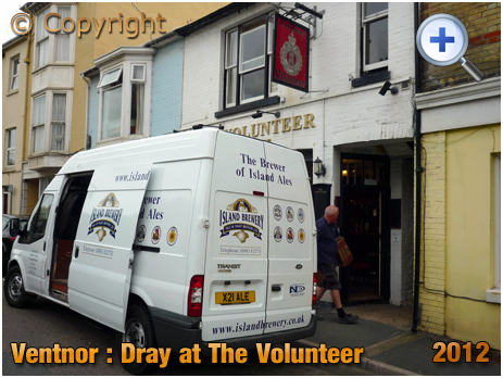 Isle of Wight : Dray at The Volunteer in Ventnor [2012]