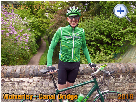 Wolverley : Canal Bridge over the Staffordshire and Worcestershire Canal [2018]