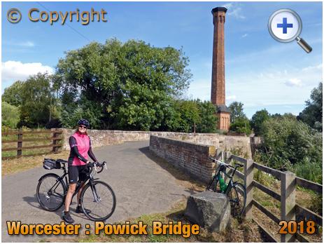 Powick Bridge and Electric Power Station Chimney [2018]