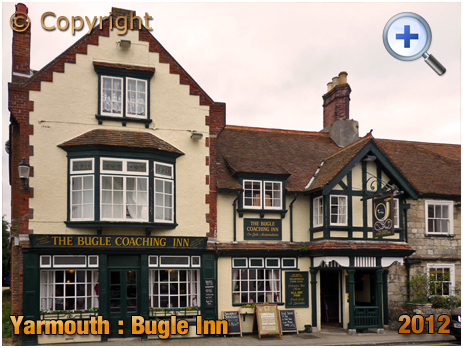 Isle of Wight : The Bugle Inn at Yarmouth [2012]