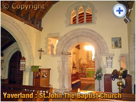 Isle of Wight : Church of Saint John the Baptist at Yaverland [2012]