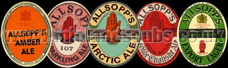 Allsopp's Beer Labels
