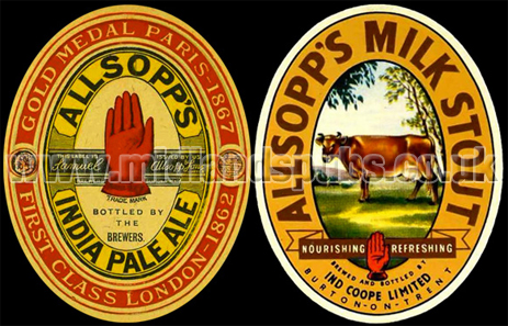 Allsopp's India Pale Ale and Milk Stout