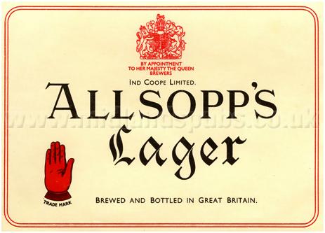 Allsopp's Lager