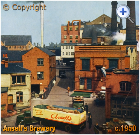 Aston : Ansell's Brewery [c.1950]