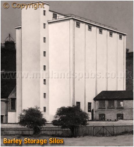 Ansell's Brewery Barley Storage Silos