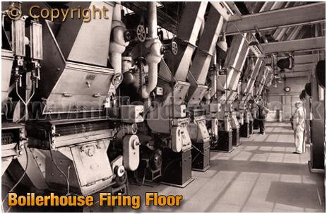 Ansell's Brewery Boilerhouse Firing Floor