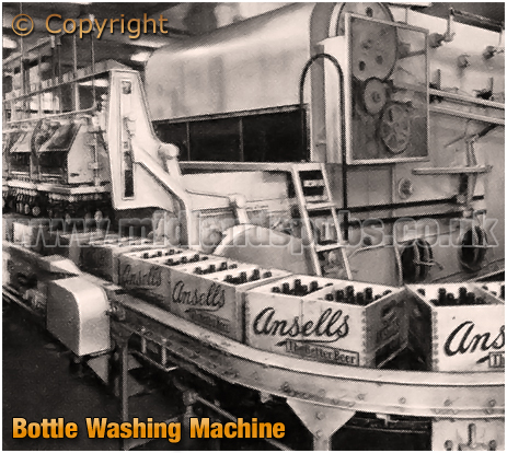 Bottle Washing Machine at Ansell's Brewery
