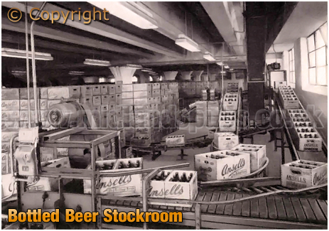 Ansell's Bottled Beer Stockroom