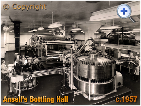 Ansell's Brewery Bottling Line