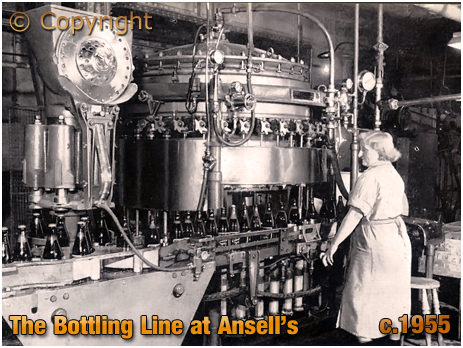 Ansell's Brewery Bottling Machine