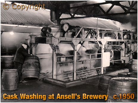 Ansell's Brewery Cask Washing