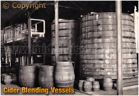 Ansell's Brewery Cider Blending Vessels