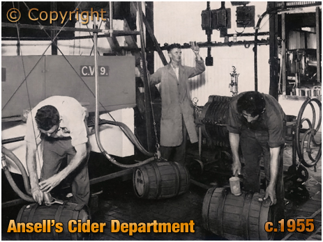 Ansell's Brewery Cider Department