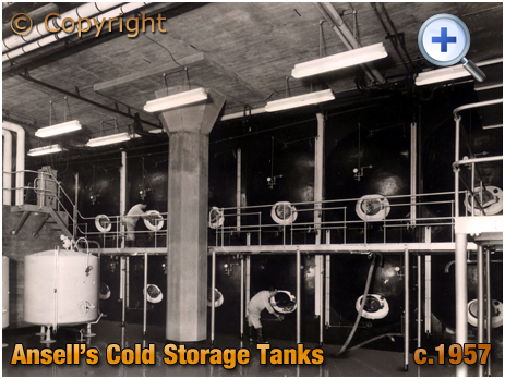 Ansell's Brewery Cold Storage Tanks