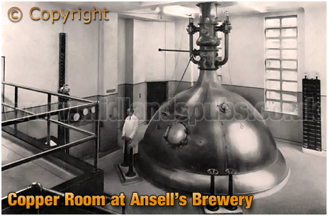 Ansell's Brewery in Aston [c1968]