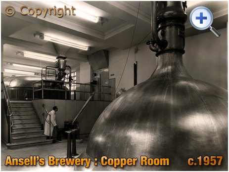 Ansell's Brewery Copper Room