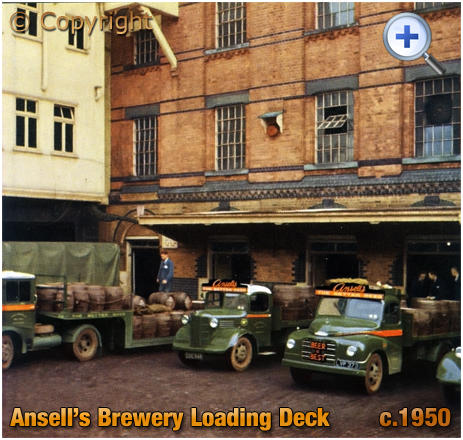 Aston : Ansell's Brewery Loading Deck [c.1950]