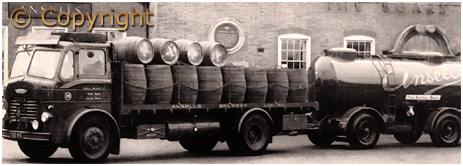 Ansell's Brewery Dray and Tanker