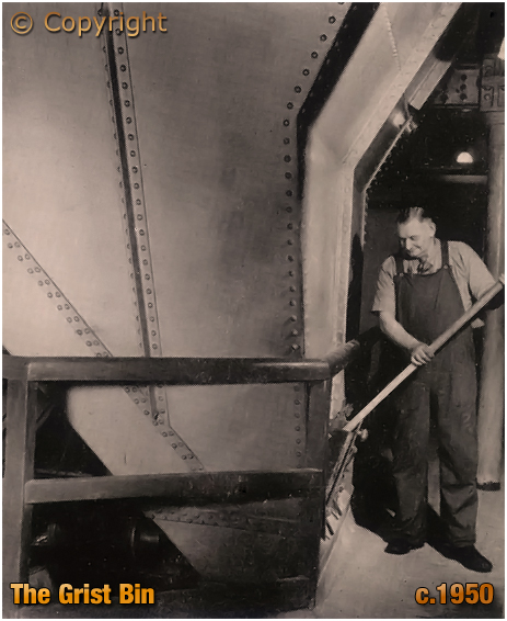 Grist Bin at Ansell's Brewery [c.1950]