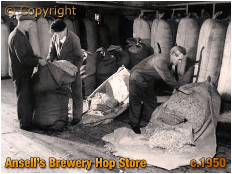 Ansell's Brewery Hop Store
