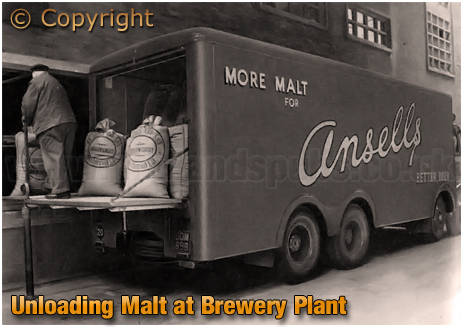 Ansell's Brewery Malt Lorry