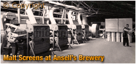 Ansell's Brewery Malt Screens