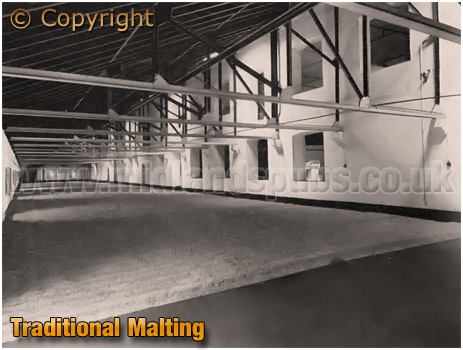 Ansell's Brewery Traditional Malting Floor