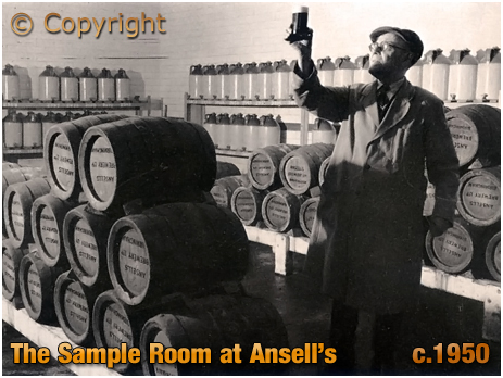 Ansell's Brewery Sample Room