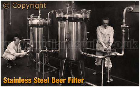 Ansell's Brewery Stainless Steel Beer Filter