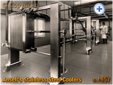 Ansell's Brewery Stainless Steel Coolers