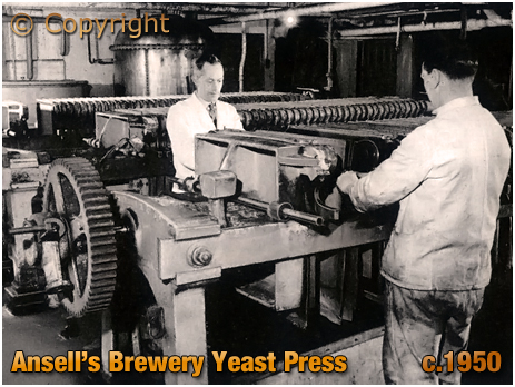 The Yeast Press at Ansell's Brewery