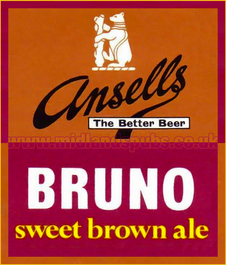 Ansell's Bruno Sweet Brown Ale