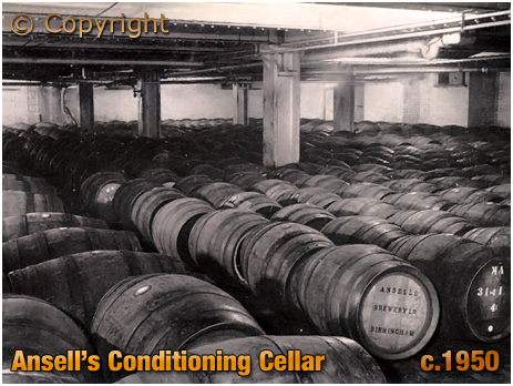 Ansell's Brewery Conditioning Cellar