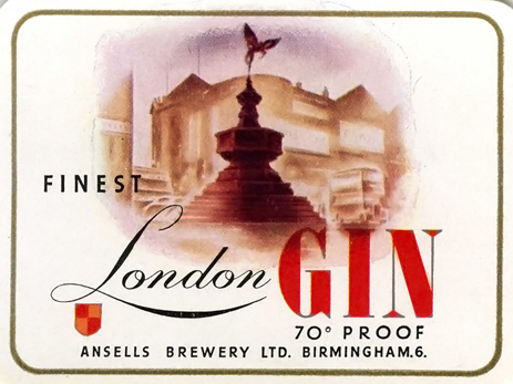 Ansell's Finest London Gin