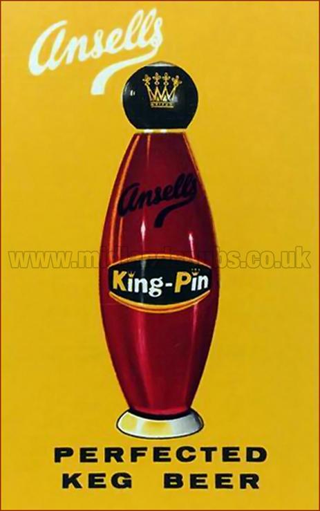 Ansell's King-Pin - Perfected Keg Beer