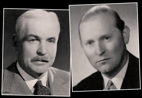 Major H. P. Rushton and R. E. Ansell : Directors of Ansell's Brewery Ltd. [1957]