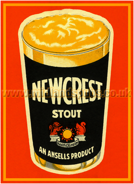 Ansell's Newcrest Stout