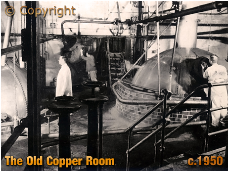 The Old Copper Room at Ansell's Brewery