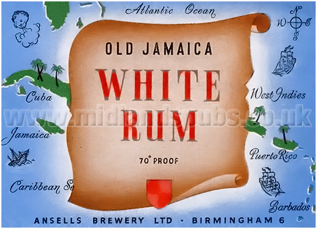 Ansell's Old Jamaica White Rum