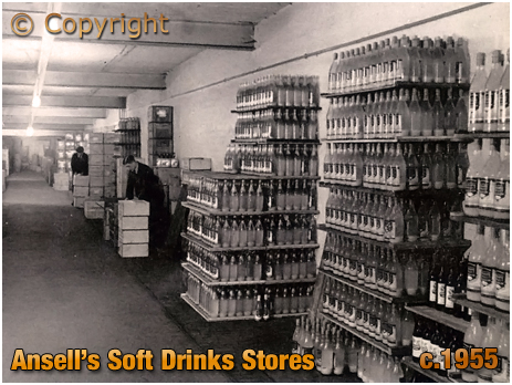 Ansell's Brewery Soft Drinks Stores