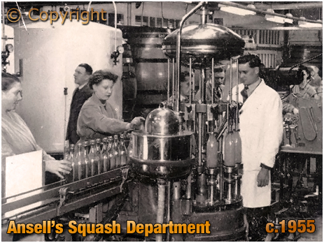 Ansell's Brewery Squash Bottling Line