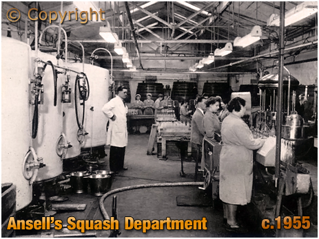 Ansell's Brewery Squash Department