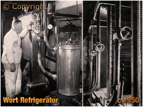 Ansell's Brewery Wort Refrigerator