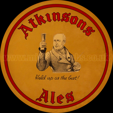 Atkinson's Ales - Held Up as The Best!