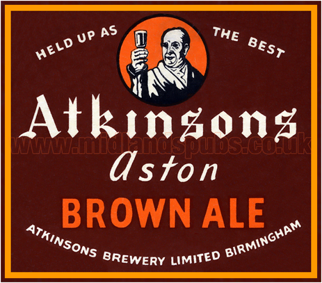 Atkinson's Aston Brown Ale