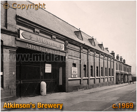 Atkinson's Brewery in Aston [c1968]