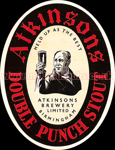 Atkinson's Double Punch Stout