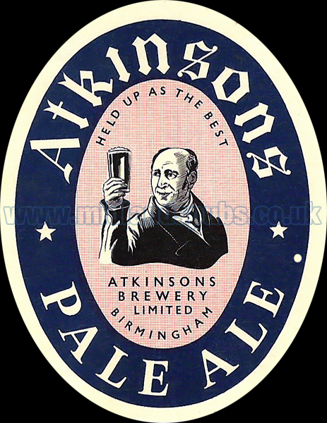 Click here for more information on Atkinson's Brewery Ltd.